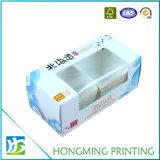Offsetdrucken Belüftung-Fenster-weißer Pappnahrungsmittelkasten
