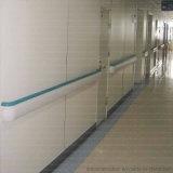 De muur zette de Antibacteriële Leuning van pvc van de Gang van het Ziekenhuis op
