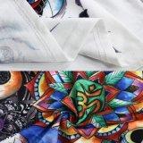 Les femmes 100% ronds de collet de coton neuf d'été ont estampé des T-shirts