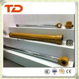 Cilindro del petróleo de la asamblea de cilindro hidráulico del cilindro del auge de KOMATSU PC300-7 para los recambios del cilindro del excavador de la correa eslabonada