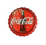Kundenspezifische Bier-Zinnblech-Kronen-Schutzkappen für Wand-Dekoration