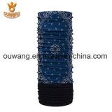 Bandana modificado para requisitos particulares de múltiples funciones del tubo de la impresión con el paño grueso y suave