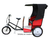3つの車輪都市ツーリストの電気Pedicabの人力車