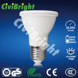 E27 PC+Aluminum 7W weißes LED PAR20 Licht