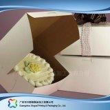 음식 초코렛 케이크 (xc-fbk-006)를 위한 접히는 종이 포장 상자