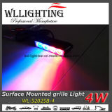 Luz principal superficial del vehículo 4 LED del montaje