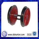 Подгонянное колесо поезда высокой точности к модели игрушки/поезда детей