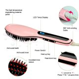 Escova elétrica do Straightener do cabelo da beleza