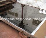 Черным Titanium взрывать песка вибрации зеркала плит Stainlesss стальным декоративным почищенный щеткой волосяным покровом