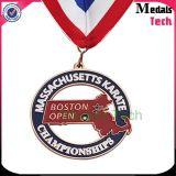 Medalla suave 2017 de la aleación del cinc del esmalte del maratón de Víspera de Todos los Santos de la venta al por mayor del surtidor de la medalla de China