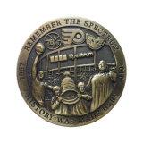 Medalha feita sob encomenda redonda do metal com logotipo