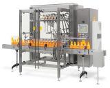 A máquina de enchimento linear enlata a máquina de etiquetas da máquina da selagem