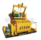 Mezclador concreto de la fuerza, mezclador concreto eléctrico (JS500)