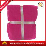 安いポリエステル旅行羊毛毛布の工場中国
