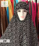 100cm * 110cm Big 100% Polyester Fashion Moslem Printed Sleeve Cap