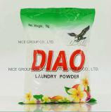 Poudre détergente utile de mousse riche de marque de Diao