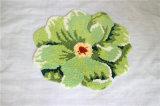 Couverture Shaggy faite sur commande de région de tapis de décoration essentielle à la maison de fleur