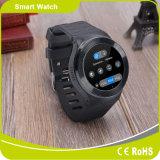 Montre intelligente intelligente de la fréquence cardiaque GPS de montre de Bluetooth de téléphone mobile androïde de montre