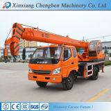 Mini vente chinoise de grue de camion de Henan de camionnette de livraison avec des certificats de GV de la CE