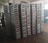 Grande cassa di plastica dell'alluminio del coperchio di angolo