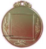 La médaille blanc peut être ajoutent le collant au milieu