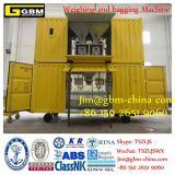 FIBC Wiegen und bauschende Geräten-Porteinsacken-Maschine verwendet auf Kanal