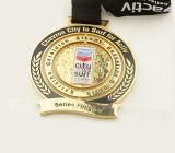 El diseño al por mayor del cliente se divierte la medalla del metal