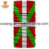 カスタム伸縮性があるポリエステル国旗の印刷された継ぎ目が無いバンダナ(25*50 CM)