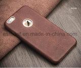 Precio barato de la caja colorida de cuero del teléfono para el iPhone