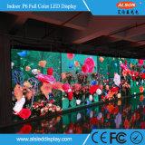 Vídeo fixo interno da cor cheia de P6mm que anuncia o indicador de diodo emissor de luz