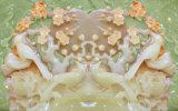 模倣的な救助の彫刻セラミックタイルモデルNo.で印刷される花の紫外線: CZ-010