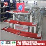 De goedkope Kooi van de Kip van de Laag van de Machines van het Landbouwbedrijf met Kip Waterers/Voeders