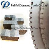 Segmento di marmo del diamante di taglio della pietra della lava balsatica dell'andesite dell'arenaria del granito