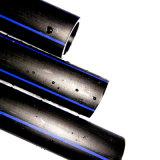 Tubulação plástica da drenagem do HDPE do diâmetro da série completa