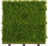 Suelo que se enclavija de la hierba del Ce del jardín del azulejo artificial estándar del Decking