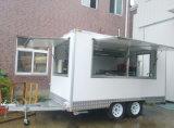회전 음식 온열 장치 손수레 디자이너 역 새로운 전기 음식 버스