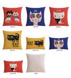 Almohadillas de lino del oro del algodón muy barato para el sofá