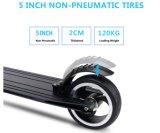 Scooter électrique de mini d'E-Scooter fibre pliable de carbone