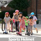 Les gosses ouvrent les casques protecteurs de patinage de moto d'escompte de fibre de carbone de face