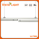 130lm / W Warm White Strip Pendant LED Linear Light pour Résidentiel