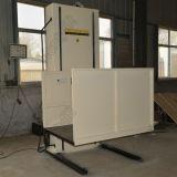 Elevador vertical accesible impermeable del sillón de ruedas de la plataforma de la elevación