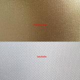 toile d'or de polyester dissolvant de 320GSM Eco lustrée