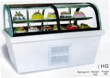 Indicador Refrigerated do gabinete do bolo do Counter-Top