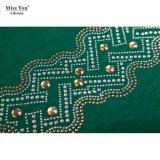 Ailinna 305167 미스 OEM 우아한 숙녀 맥시 복장 녹색 차가운 복장