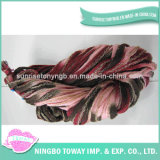 Filato fantasia di tessitura di lavoro a maglia ad alta resistenza -3 del cotone