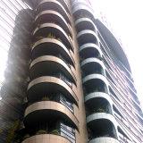 Panneau en aluminium de courbe pour la décoration commerciale de construction