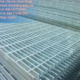 Reja de acero soldada presión galvanizada para el suelo