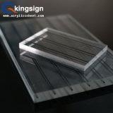 Feuille acrylique claire en plexiglas à chaud