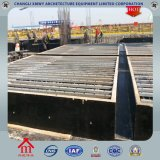 Encofrado de acero perfilado permanente para losas
