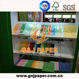 Бумага офсетной печати Woodfree цвета нормального размера для оптовой продажи